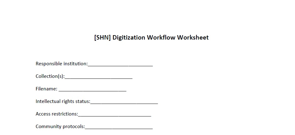 Digital Workflows Template And Example The Sustainable Heritage